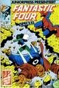 Strips - Fantastic Four - alle remmen los op naar de zon
