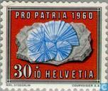 Postage Stamps - Switzerland [CHE] - Gems and fossils