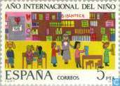 Postage Stamps - Spain [ESP] - International year of the child