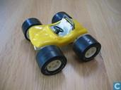 Model cars - Tonka - Tiny Tonka yellow sun buggy