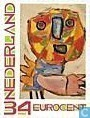 "Postage Stamps - Netherlands [NLD] - ""Karel Appel """"The Scream"""" 2008"""