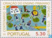 Postage Stamps - Portugal [PRT] - State School People 200J