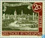 Timbres-poste - Berlin - Spandau 1232-1957