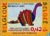 Postage Stamps - Belgium [BEL] - My first stamp