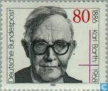 Postage Stamps - Germany, Federal Republic [DEU] - Karl Barth 100 years