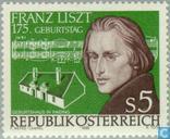 Postzegels - Oostenrijk [AUT] - Liszt, Franz 175 jaar