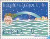 Postzegels - België [BEL] - Europa – Ontdekking van Amerika