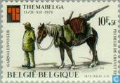Timbres-poste - Belgique [BEL] - Timbre exposition Themabelga