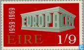 Postage Stamps - Ireland - Europe – Temple