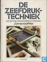Books - Cantecleer handboeken - De Zeefdruktechniek; oorsprong, ontwikkeling en metoden