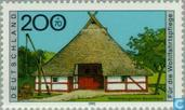 Postage Stamps - Germany, Federal Republic [DEU] - Farmhouses