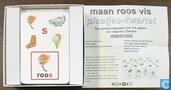 Spellen - Kwartet - Maan Roos Vis Plaatjes Kwartet