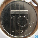 Coins - the Netherlands - Netherlands 10 cents 1995