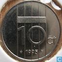 Monnaies - Pays-Bas - Pays-Bas 10 cents 1995