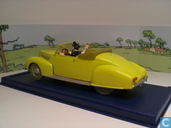 """Modelauto's  - Atlas - De cabriolet van kapitein Haddock uit """"De 7 kristallen Bollen"""""""