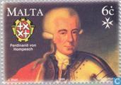 Timbres-poste - Malte - Fin de la règle 200 années Johnaniter