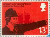 Postage Stamps - Great Britain [GBR] - Telephony Centenary
