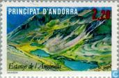 Timbres-poste - Andorre - Poste française - Tourisme