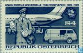 Postzegels - Oostenrijk [AUT] - 100 jaar UPU