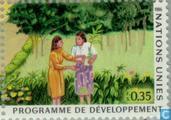 Timbres-poste - Nations unies - Genève - Développement