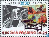 Postzegels - San Marino - 20e eeuw