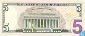 Banknotes - Federal Reserve Note - Unitzed States 5 dollars 2006 E