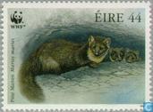 Timbres-poste - Irlande - WWF-martre