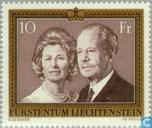 Postage Stamps - Liechtenstein - Prince Couple