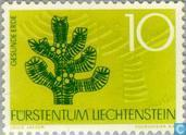 Postage Stamps - Liechtenstein - Nature