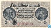 Reichsmark Allemagne 5