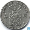 Curacao 1/10 gulden 1901