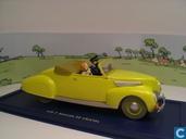"""Model cars - Atlas - De cabriolet van kapitein Haddock uit """"De 7 kristallen Bollen"""""""