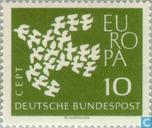 Postage Stamps - Germany, Federal Republic [DEU] - Europe – Flying Pigeons