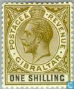 Briefmarken - Gibraltar - König Georg V.