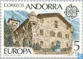 Postage Stamps - Andorra - Spanish - Europe – Monuments
