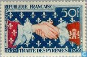 Postage Stamps - France [FRA] - Pyrenees Treaty 1659-1959