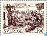 Postage Stamps - Sweden [SWE] - Sigtuna Anno 1000