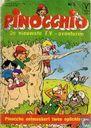 Comic Books - Pinocchio - Pinocchio ontmaskert twee oplichters