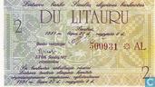 Lithuania 2 litauru