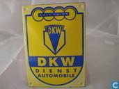 Emaille Reklamebord : DKW