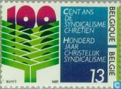 Postage Stamps - Belgium [BEL] - Textile Trade Unions 1886-1986