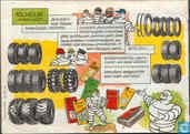 Strips - Michelin mannetje - Michelin of de geschiedenis van de luchtband