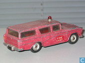 Model cars - Dinky Toys - Nash Rambler Fire Chief