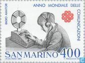 Postage Stamps - San Marino - Int. year of Communication