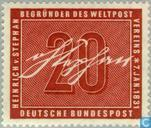 Postage Stamps - Germany, Federal Republic [DEU] - Stephan, Heinrich von 1831-1897