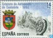 Timbres-poste - Espagne [ESP] - Cantabria autonomie