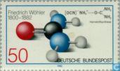 Postzegels - Duitsland, Bondsrepubliek [DEU] - Friedrich Wöhler 1800-1882