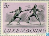 Timbres-poste - Luxembourg - Jeux olympiques