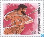 Postzegels - Griekenland - Goden Olympus