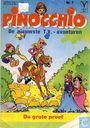 Strips - Pinokkio - de grote proef